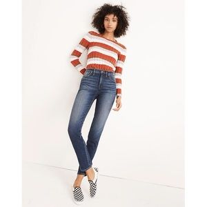 NEW Madewell Slim Straight Jeans Sz 25